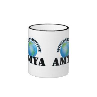 World's Hottest Amya Ringer Mug