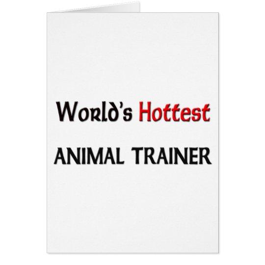 Worlds Hottest Animal Trainer Card
