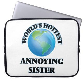World's Hottest Annoying Sister Laptop Sleeve