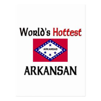 World's Hottest Arkansan Post Cards
