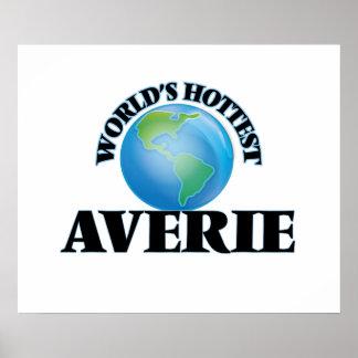World's Hottest Averie Poster
