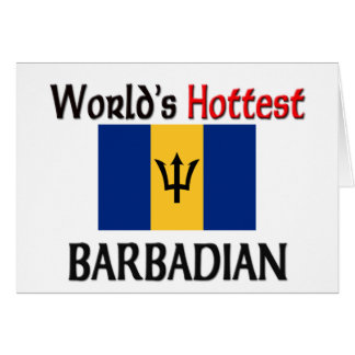 World's Hottest Barbadian Card