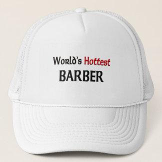 Worlds Hottest Barber Trucker Hat