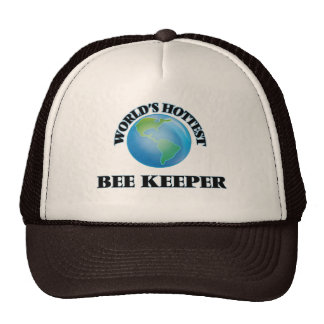 World's Hottest Bee Keeper Trucker Hats
