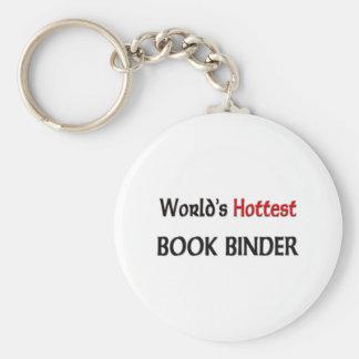Worlds Hottest Book Binder Key Chain