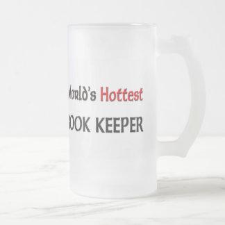 Worlds Hottest Book Keeper Mug