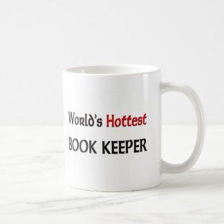 Worlds Hottest Book Keeper Coffee Mugs