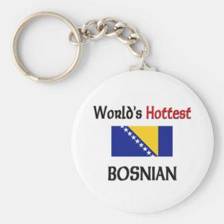 World's Hottest Bosnian Key Ring