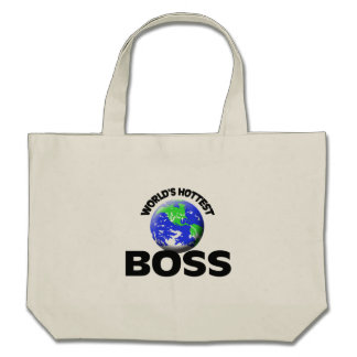 World's Hottest Boss Tote Bags