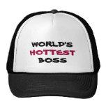WORLD'S, HOTTEST, BOSS hat
