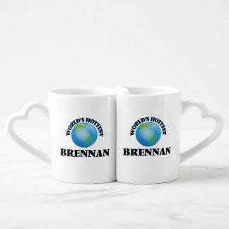 World's Hottest Brennan Lovers Mug Sets