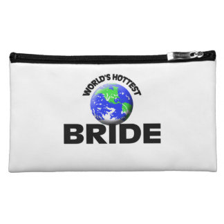 World's Hottest Bride Cosmetic Bag