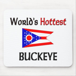 World's Hottest Buckeye Mouse Pad