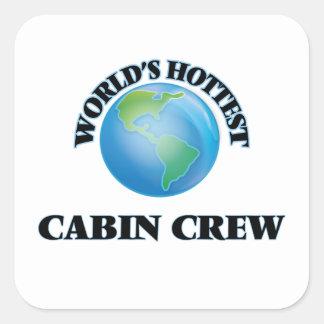 World's Hottest Cabin Crew Stickers