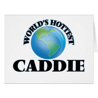 World's Hottest Caddie Cards