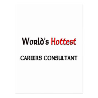 Worlds Hottest Careers Consultant Postcards