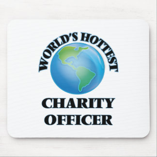 World's Hottest Charity Officer Mouse Pads
