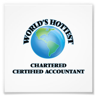 World's Hottest Chartered Certified Accountant Photograph