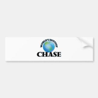 World's Hottest Chase Bumper Sticker