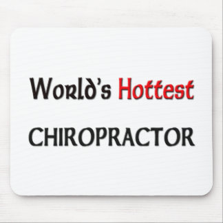Worlds Hottest Chiropractor Mouse Mat