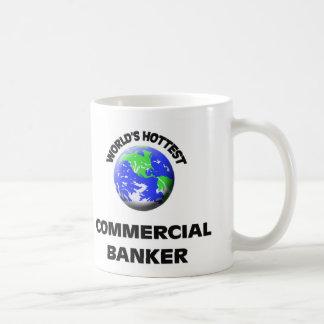 World's Hottest Commercial Banker Basic White Mug