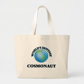 World's Hottest Cosmonaut Tote Bags