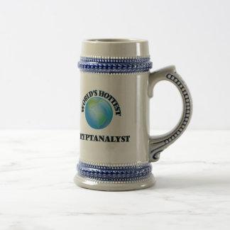 World's Hottest Cryptanalyst Beer Steins