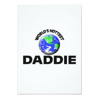 World's Hottest Daddie Custom Invitations