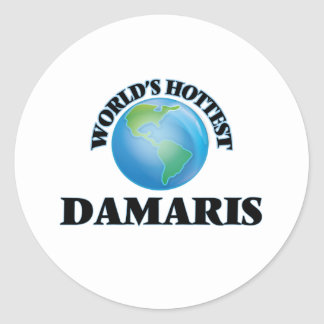 World's Hottest Damaris Stickers