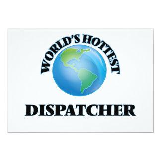 World's Hottest Dispatcher Personalized Invites