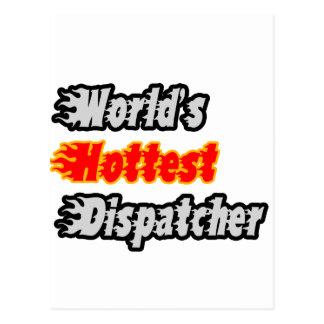 World's Hottest Dispatcher Postcard