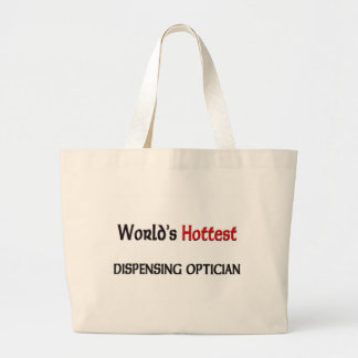 Worlds Hottest Dispensing Optician Jumbo Tote Bag