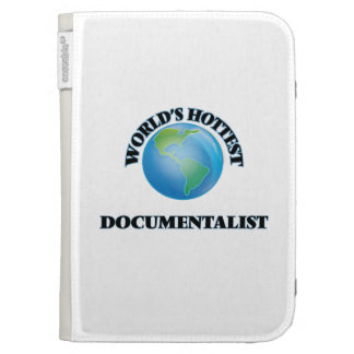 World's Hottest Documentalist Kindle Cases
