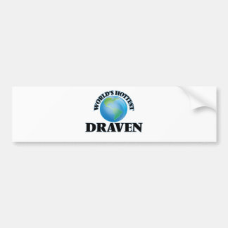 World's Hottest Draven Bumper Sticker