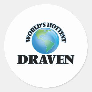 World's Hottest Draven Round Sticker