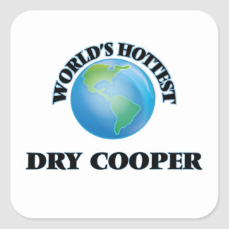 World's Hottest Dry Cooper Stickers