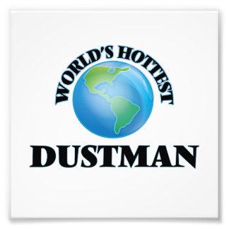 World's Hottest Dustman Photo Print