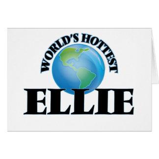 World's Hottest Ellie Cards