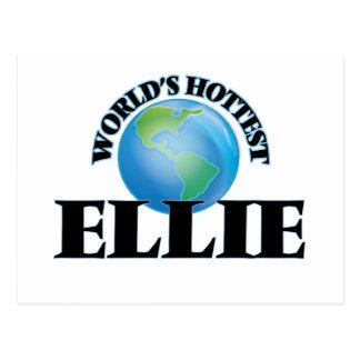 World's Hottest Ellie Post Card
