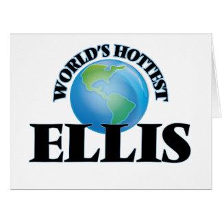 World's Hottest Ellis Cards