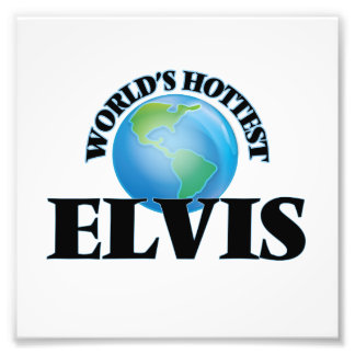 World's Hottest Elvis Photo Art
