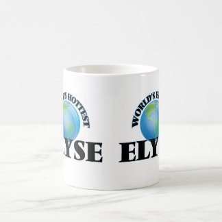 World's Hottest Elyse Basic White Mug