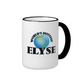 World's Hottest Elyse Ringer Mug