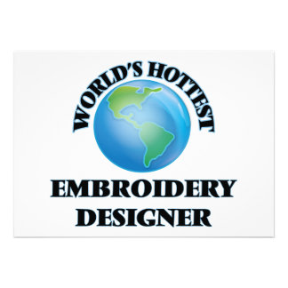 World's Hottest Embroidery Designer Invitations