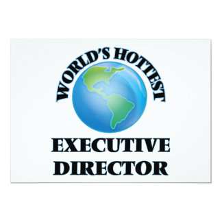 World's Hottest Executive Director Custom Invites
