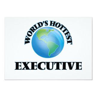 World's Hottest Executive Custom Invite
