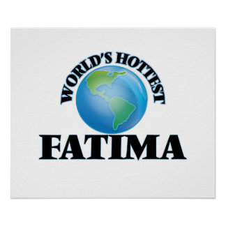 World's Hottest Fatima Poster