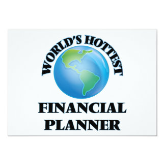 World's Hottest Financial Planner Personalized Invitations