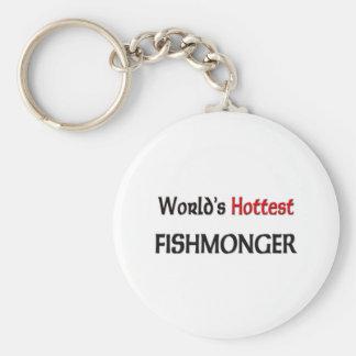 Worlds Hottest Fishmonger Key Ring