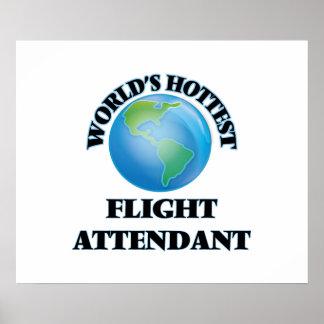 World's Hottest Flight Attendant Poster